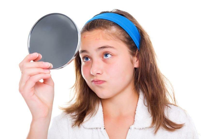 Teenager Kosmetik Behandlung
